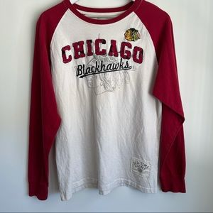 Old Time Hockey Chicago Blackhawks long sleeve L